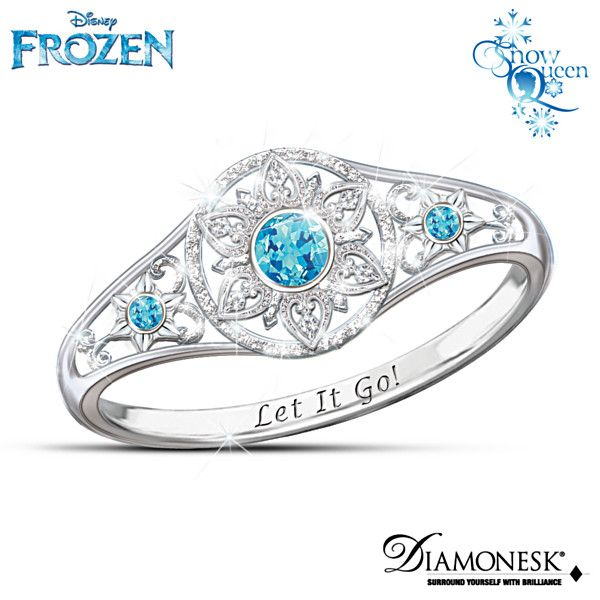 Disney FROZEN Enchanted Snowflake Ring....so pretty!