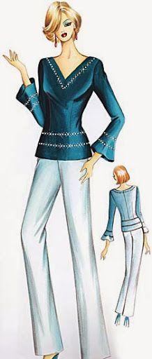 fashionillustr.quenalbertini: Marfy 2005 by Irina Vladimirova, Picasa Web Albums