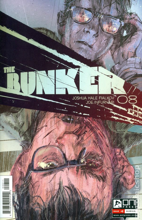 Bunker (2014 Oni Press) 8  Oni Press Modern Age Comic Book covers