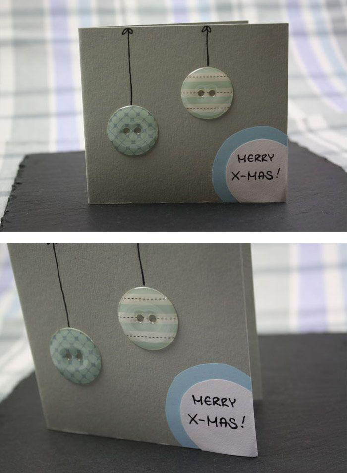 Die besten ideen zu machen deindiy deindiy basteln und for Originelle weihnachtskarten