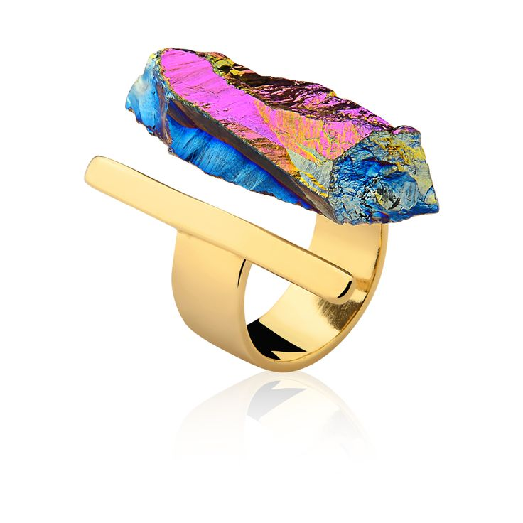 #mariadolores #urockcollection #raw #stones #crystal #wood # woodjewelry #jewelry # statementjewelry #accessories # style #fashion # unique #uniquejewelry #customjewelry  #gioiello # wearableart #rings #gold