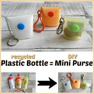 How to make a Plastic Bottle Purse from an empty plastic bottle!