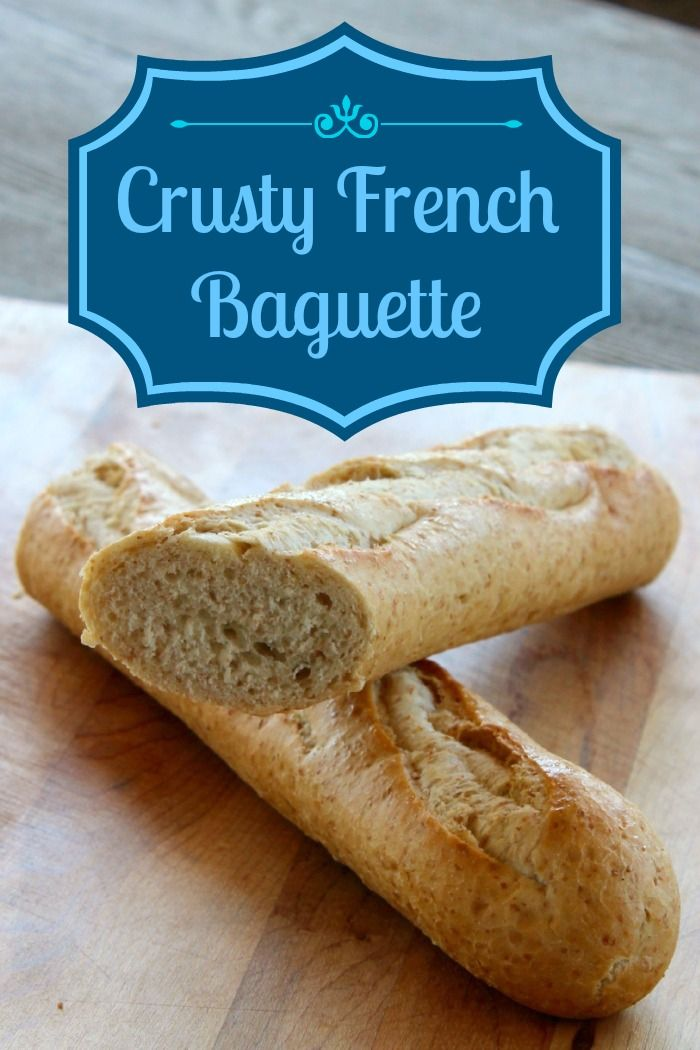 Crusty French Baguette recipe to satisfy your inner Julia Child! #recipe #bread #baguette
