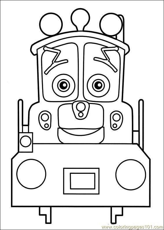 Chuggington 04 Coloring Page | VBS | Pinterest | Colores, Dibujos ...