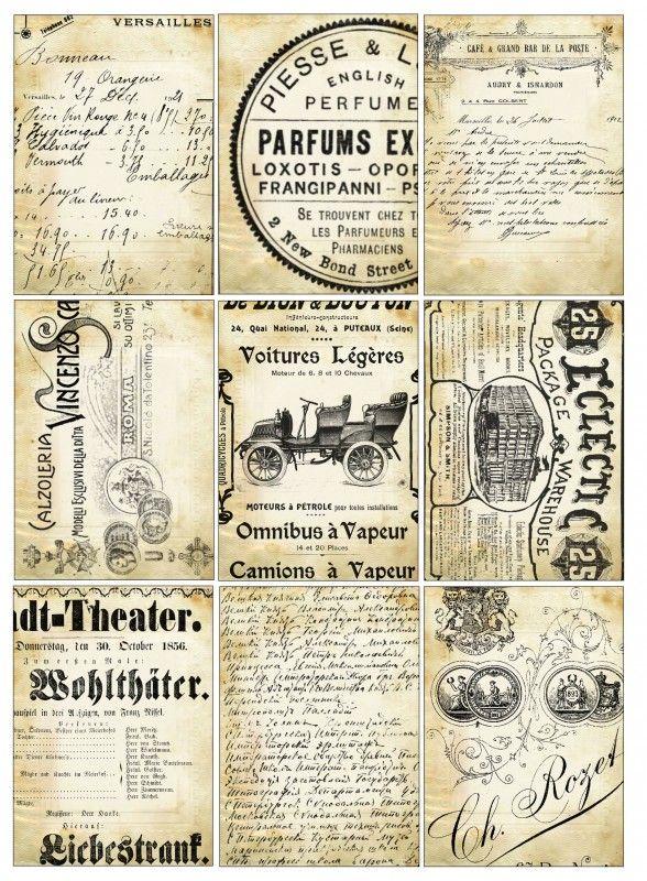 Sheet vintage text   Teksten & Spreuken   Nostalgie & Brocante
