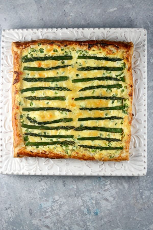 Asparagus and Gouda Tart Recipe