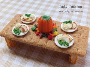 22 Edible Thanksgiving Crafts for Kid from @AllFreeKidsCrafts