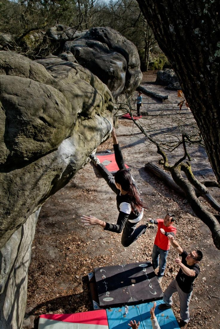 Accuracy (Bouldering in Fontainebleau, Paris, France) Photograph by Ian Ang