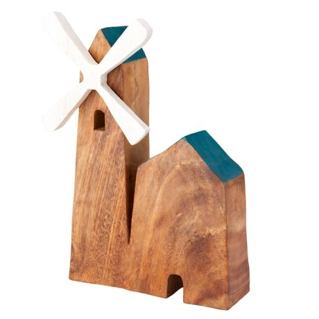 Chesham Windmill Statue 25cm | Freedom Furniture and Homewares