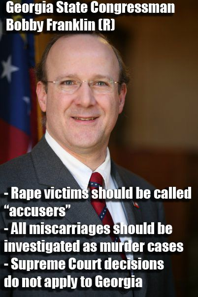 Where do Republicans come up with so many candidates, who hate women & the USA? Miscarriage as 'murder'? Idiot.