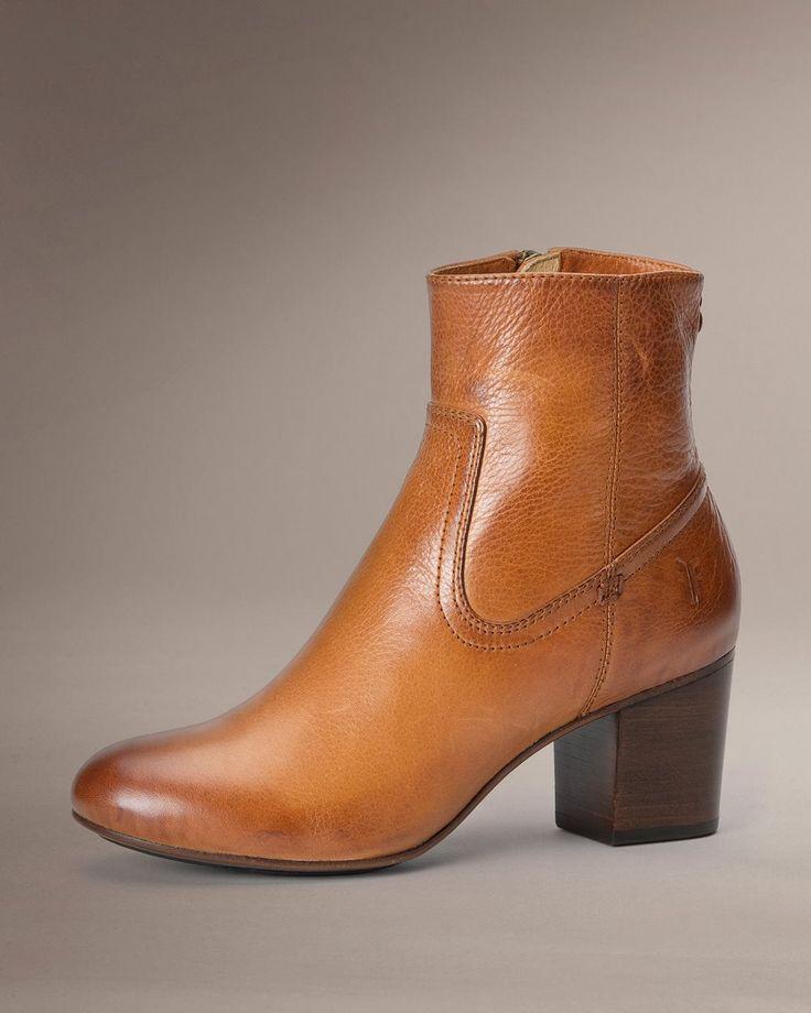 Stella Zip Short - Women_Boots_Tailored - The Frye Company