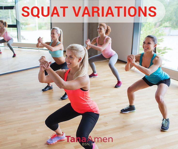 how to train body to squat with ease
