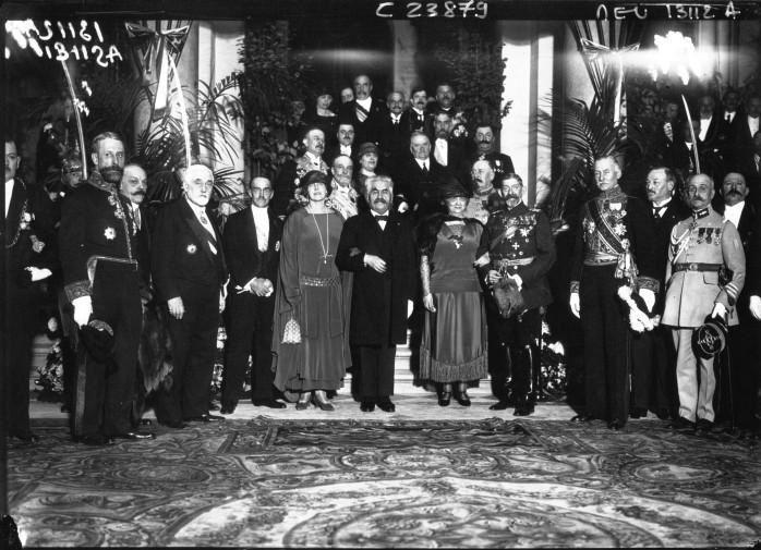 Voyage du Roi et de la Reine de Roumanie à Paris - réception à l'Hôtel de Ville
