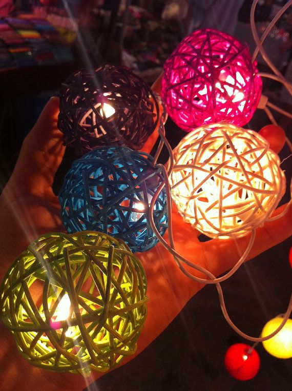 Decorative Rattan Balls Entrancing 207 Best Decorative Lighting Images On Pinterest  Home Ideas 2018