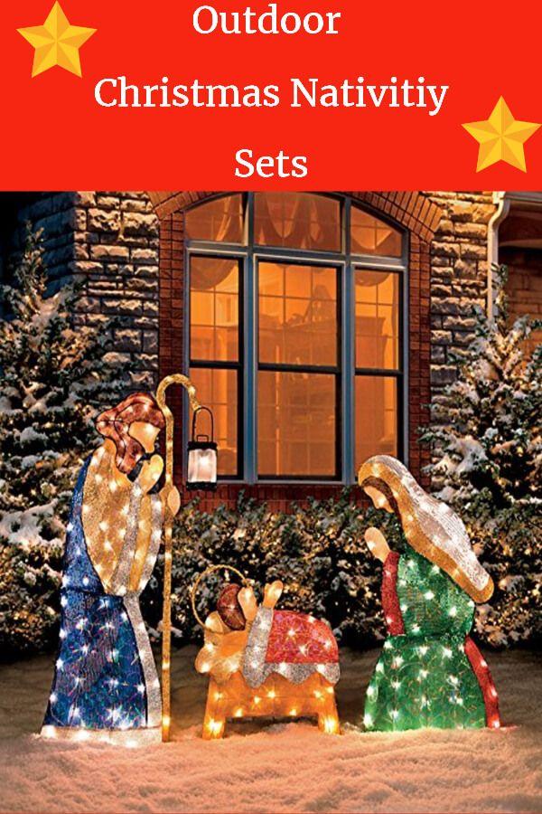 Top 15 Outdoor Christmas Nativity Sets Christmas Nativity Set Outdoor Nativity Nativity Set