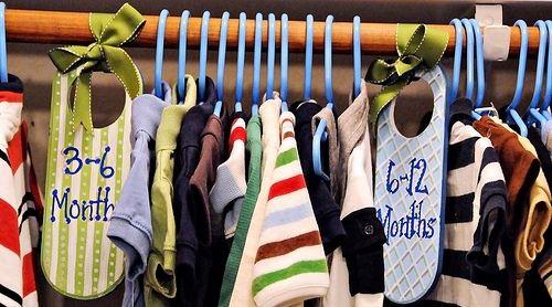 17 Best images about closet rod divders on Pinterest