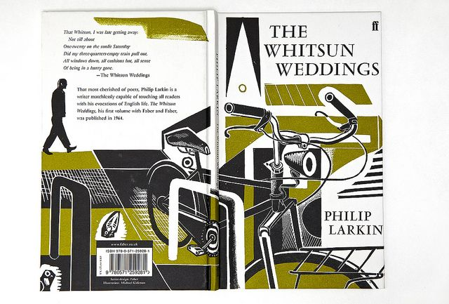 what do you think?Whitsunmichaelkirkmanfront, Worth Reading, Book Covers Design, Faber Book, Book Worth, Comics Book, Wedding, Whitsun Michaelkirkman Front, Philip Larkin