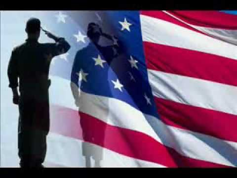American Soldier - Toby Keith- it reminds me of how thankful i am of having people that protect us and that things may happen but we will always rise back up