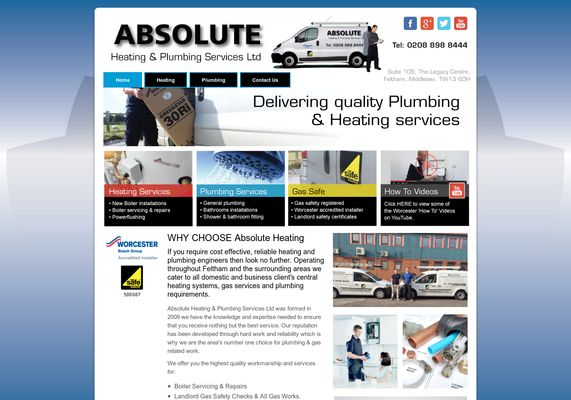 flygcforum.com ✈ ABSOLUTE HEATING & PLUMBING SERVICES LTD - FELTHAM, MIDDLESEX, TW13 6DH ✈ Absolute waste of time! ✈