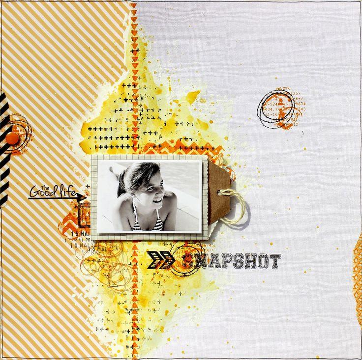 Scrap Plaisir shannon91: ** Invitée créative pour la Scraposphère **