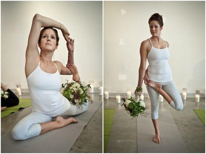 Unique Yoga Zen Bridal Shoot  Bachelorette Ideas | Bridal Musings | A Chic and Unique Wedding Blog