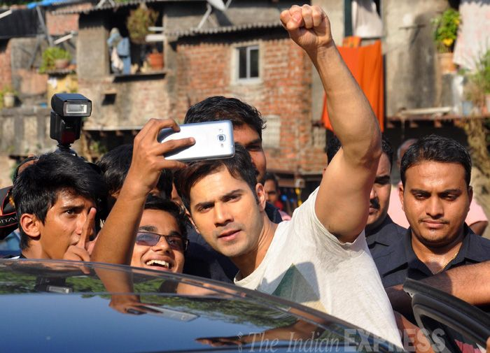 Varun Dhawan goes to college with 'Badlapur'