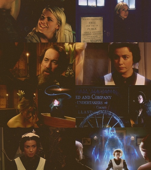 doctor who: S01E03 The Unquiet Dead