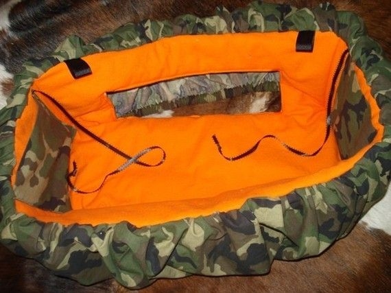Shopping Cart Cover Camo Military Hunter Orange Seat by 31Prov, $38.00