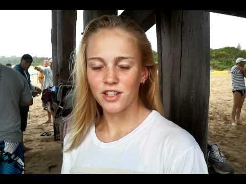 Competitor Zoe Burgess explains why she is competing in the 2012 Beachside Radiology Coffs Ocean Swim