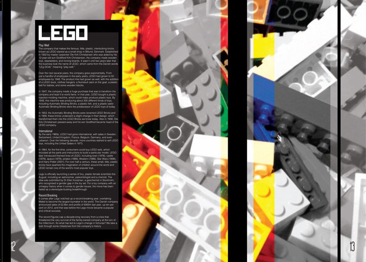 Lego, featuring my own photography.