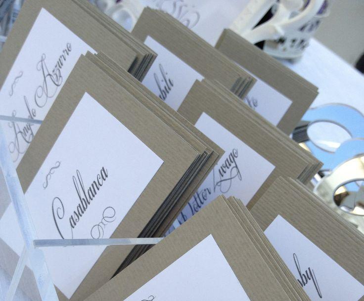 www.italianfelicity.com #placement #tablenames #escortcards