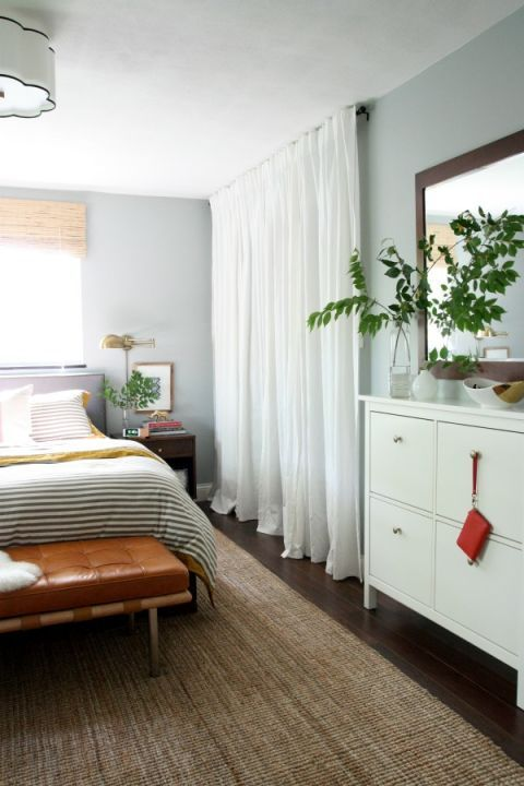 9 clever ways to conquer your cramped closet - Curtains For Sliding Doors