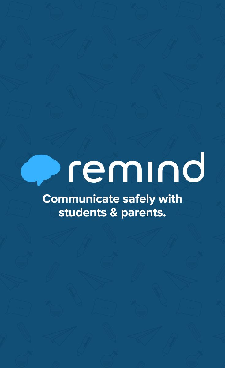 Remind is a FREE, safe way for teachers to text message students and stay in touch with parents without ever sharing phone numbers.