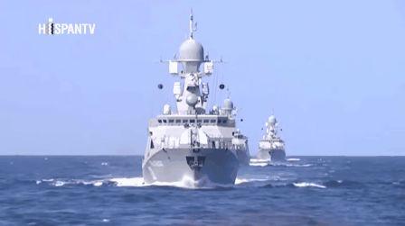 KIKKA: Barcos Kalibr RUSOS misil crucero: EE.UU sorprendido del poder APLASTANTE de los pequeños barcos rusos FOTO VIDEO