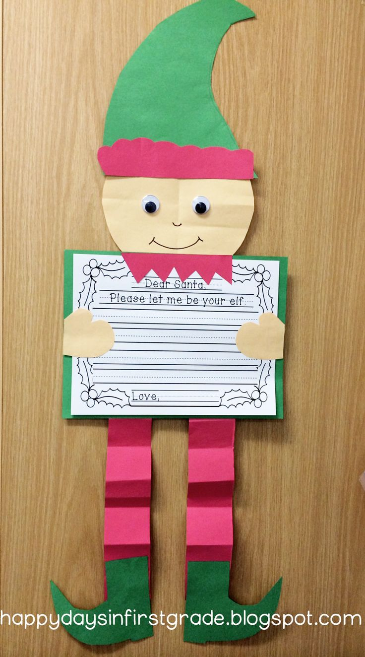 proper friendly letter format%0A Fun ELF Writing Craftivity Students write a friendly letter to Santa to  persuade him to