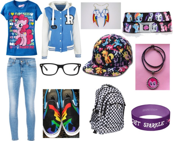 """Awesome My Little Pony Outfit!"" by pandamania0531 ❤ liked on Polyvore"