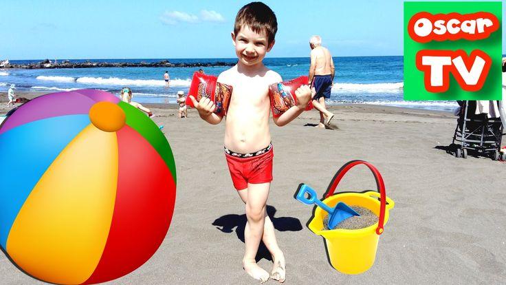 VLOG 3 день Атлантический Океан, как проходят наши дни пляжный сезон отк...