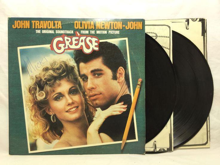 #Grease Soundtrack RSO RS 2-4002 Original OOP Vinyl Record 2 LP