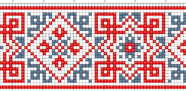 Схемы вышивки орнаментов. Как вышить орнамент / Мастер-класс