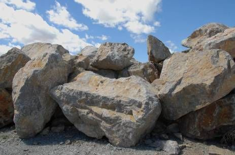 New Mexico Travertine- Gravel & Boulders For Landsape & Xeriscape Projects