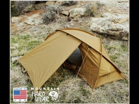 The Mountain Hardwear Hunker 1- First Look - The Outdoor Gear Review - YouTube