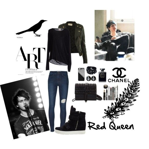 """""""Red Queen"""" by elleonora-scarlat on Polyvore"""