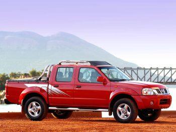 Nissan Hardbody Dakar Edition Crew Cab (D22) '2004