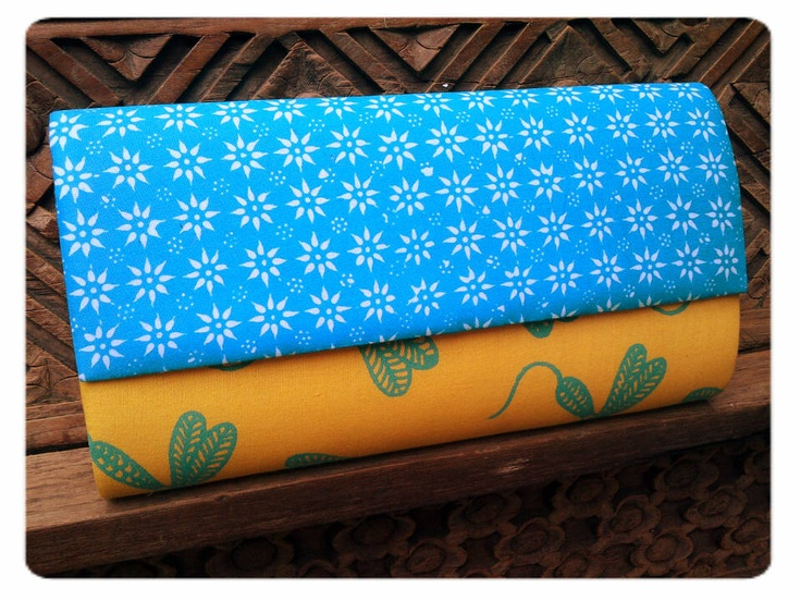 Batik #clutchbag  stamped batik truntum + stamped batik dragonfly    #clutchbag #clutch #batikbag #indonesia #ethnicbag #traditional #batik -sold to mrs. Rika-
