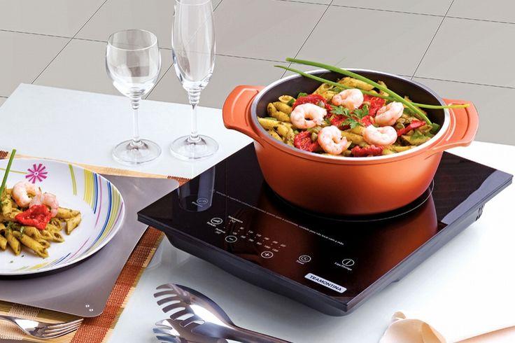 A Tramontina traz a você a praticidade do cooktop portátil, com um moderno sistema de aquecimento à indução... Leia mais...