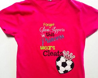 Check out Soccer Shirt - Soccer Princess - Soccer Team Shirt - Soccer Gifts - Soccer Player - Spirit Shirt - Sportswear - Soccer Gift - Soccer Sayings on fabuellaboutique