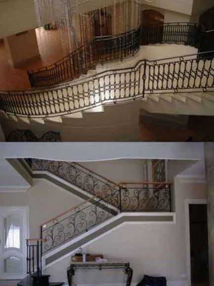 Highest quality wrought iron staircases Perth - Our wrought iron staircases Perth are built to Australian standards and fabricated using the highest quality materials.