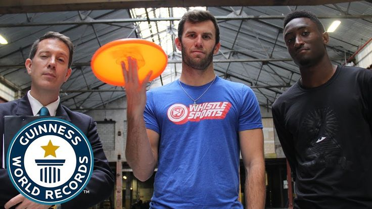 Brodie Smith & Marques Brownlee: Most behind the back catches of a frisb...