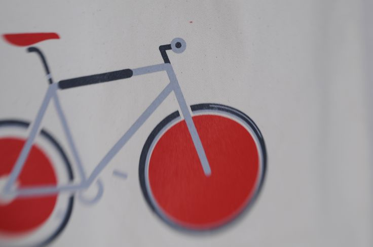 Bike on bag   www.kumakumie.pl