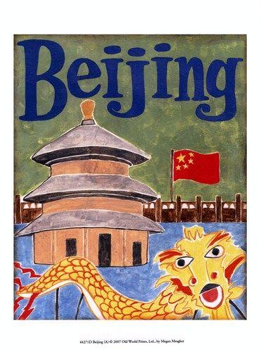 Bejing (A) Art Print by Megan Meagher